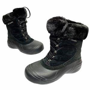 Columbia | Black Sierra Summette Faux Fur Boots